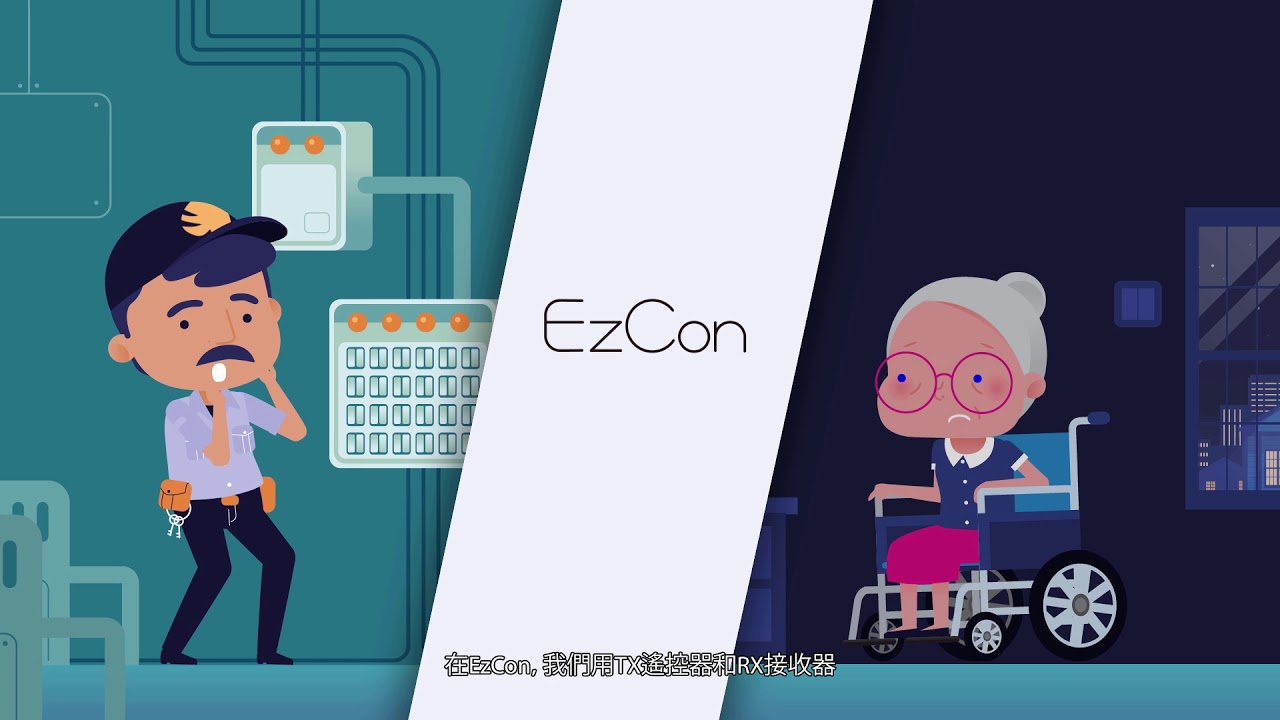 人与物遥控连结系统 EzCon